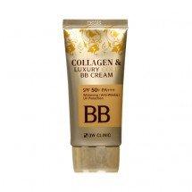 Коллагеновый бб крем 3W Clinic Collagen & Luxury Gold BB Cream SPF50+/PA+++