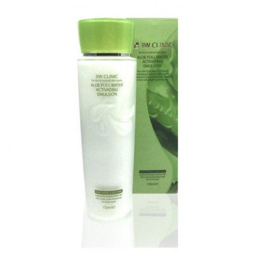 Увлажняющая эмульсия с алое 3W Clinic Aloe Full Water Activating Skin Emulsion