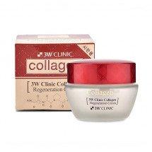 Регенерирующий крем с коллагеном 3W Clinic Collagen Regeneration Cream