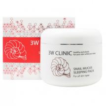 Ночная улиточная маска 3W Clinic Snail Mucus Sleeping Pack