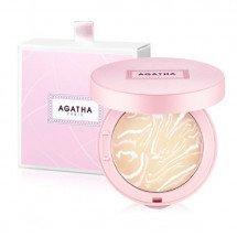 Компактная мраморная пудра Agatha Blanc Powder Pact SPF50+/PA+++