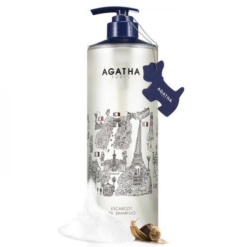 Увлажняющий шампунь с муцином улитки и маслами Agatha Escargot Oil Shampoo 1000мл