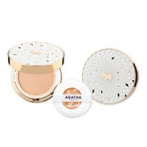 Кушон Agatha Foundation Cushion Blanc De Cover SPF50+/PA++