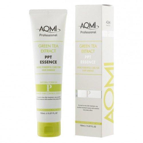 Есенція для тонкого волосся Aomi Green Tea Extract PPT Essence