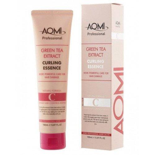 Есенція кучерявого волосся Aomi Green Tea Extract Curling Essence