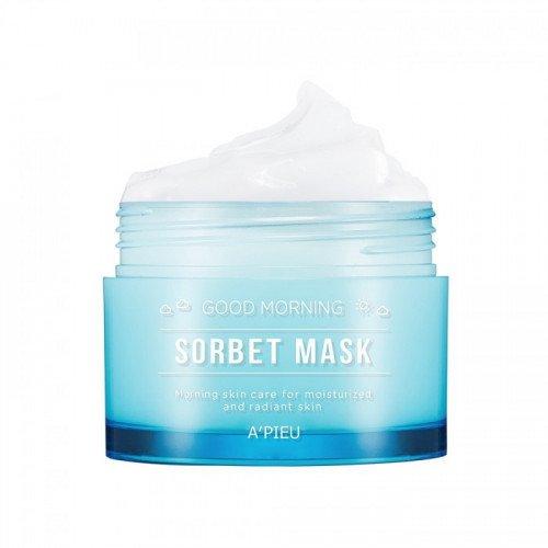 Увлажняющая и освежающая маска A'pieu Good Morning Sorbet Mask