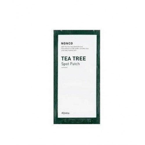 Наклейки от воспалений A'pieu Nonco Tea Tree Spot Patch