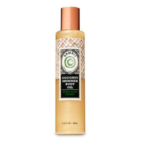 Масло для тела с шиммером Bath & Body Works Coconut Shimmer Body Oil
