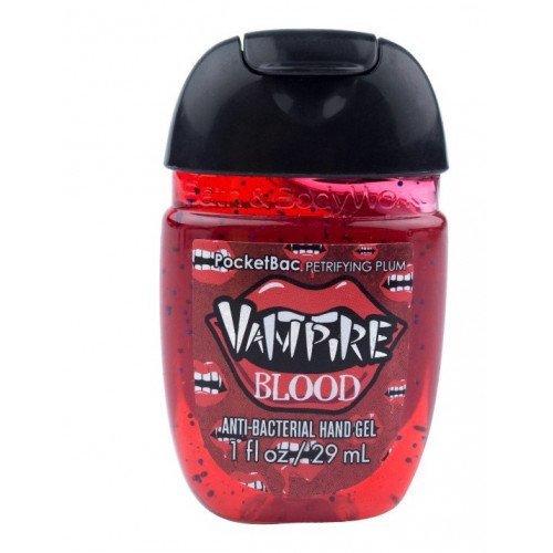 Антибактериальный гель для рук с чехлом Bath & Body Works PocketBac Vampire Blood