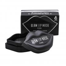 Гидрогелевые патчи для губ с экстрактом жемчуга BeauuGreen Hydrogel Glam Lip Mask Black Pearl