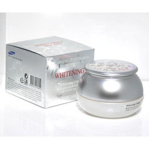 Осветляющий крем для лица с арбутином и гиалуроновой кислотой Bergamo Whitening EX Whitening Cream