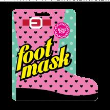 Носочки для педикюра с маслом Ши Bling Pop Shea Butter Healing Foot Mask
