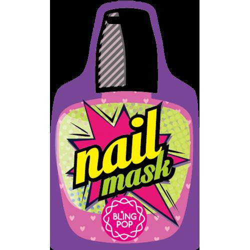 Маска для ногтей с маслом Ши Bling Pop Shea Butter Healing Nail Pack