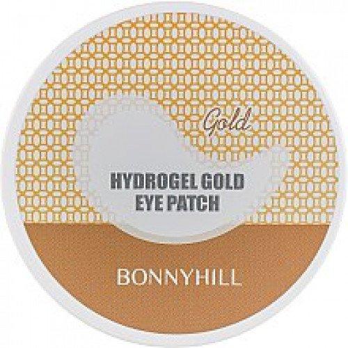 Гидрогелевые золотые патчи под глаза Bonnyhill Hydrogel Gold Eyepatch