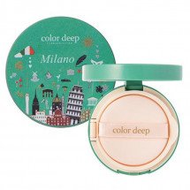 Кушон Color Deep Hydra Cover Pact Milano SPF 50+/PA+++