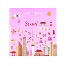 Кушон Color Deep Hydra Cover Pact Seoul SPF 50+/PA+++