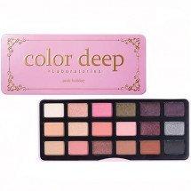 Палетка теней Color Deep Pink Holiday Eye Palette Eye Shadow