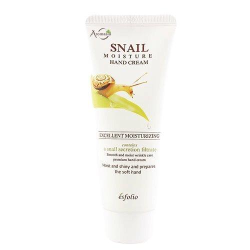 Крем для рук с экстрактом улитки Esfolio Snail Moisture Hand Cream