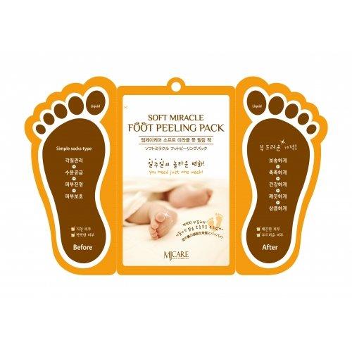 Пилинг для ног Mijin Cosmetics Soft Miracle Foot Peeling Pack