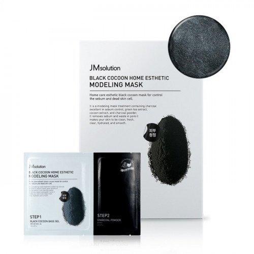 Альгинатная маска JM Solution Black Cocoon Home Esthetic Modeling Mask