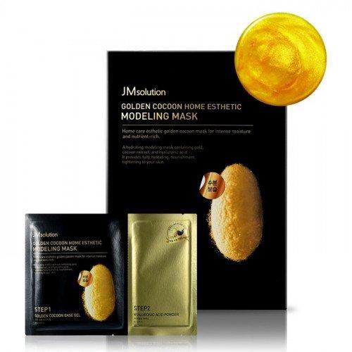 Альгинатная маска JM Solution Golden Cocoon Home Esthetic Modeling Mask