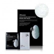 Альгинатная маска с протеинами шелка и жемчугом JM Solution White Cocoon Home Esthetic Modelling Mask