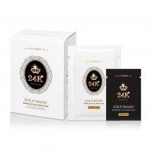 Гелевая альгинатная маска с золотом Lindsay Gold Magic Modeling Gel Mask Pack