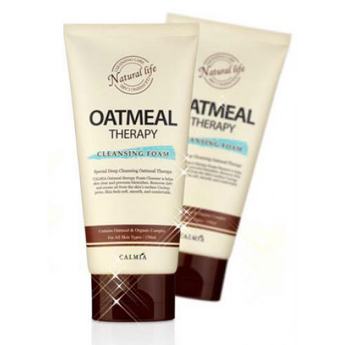 Піна для вмивання Calmia Oatmeal Therapy Cleansing Foam