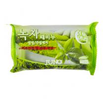 Мыло-пилинг с зеленым чаем Juno Peeling Soap Green Tea