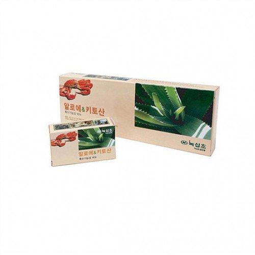 Мыло с экстрактом алоэ и хитозаном Noksibcho Aloe Chitosan Soap