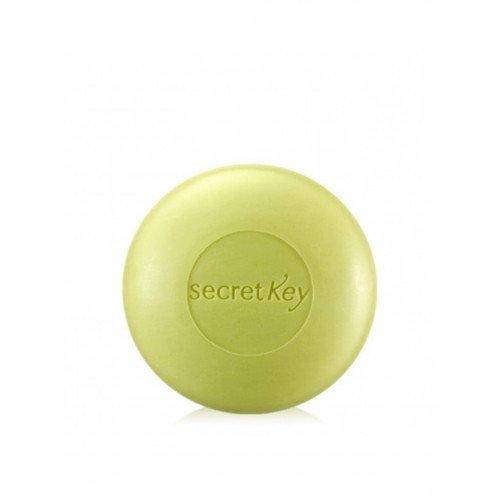 Мыло с экстрактом чайного дерева Secret Key Pure Green AC Control Cleasing Bar