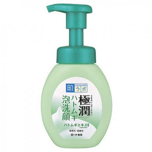 Мусс для умывания для проблемной кожи Hada Labo Gokujyun Hatomugi