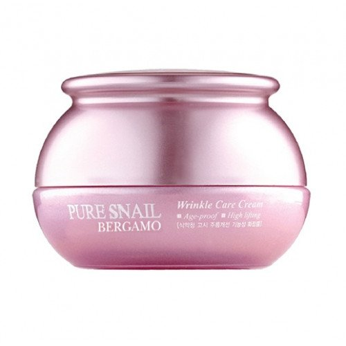 Улиточный крем Bergamo Pure Snail Wrinkle Care Cream