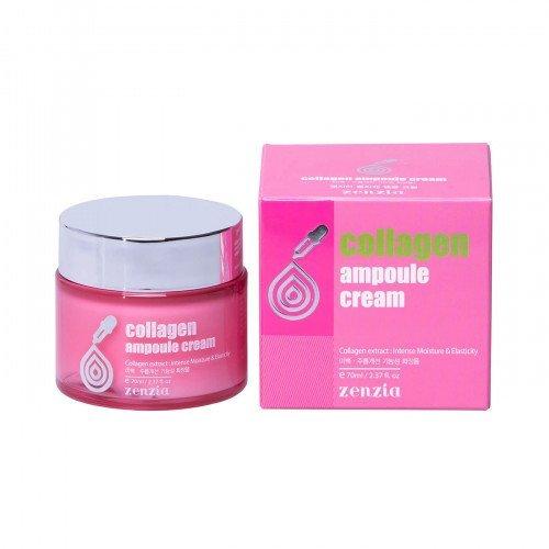 Коллагеновый крем Jigott Zenzia Collagen Ampoule Cream