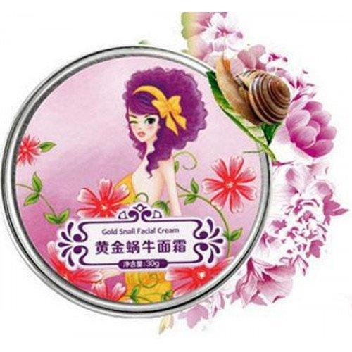 Улиточный крем для лица и век Afy Gold Snail Cream