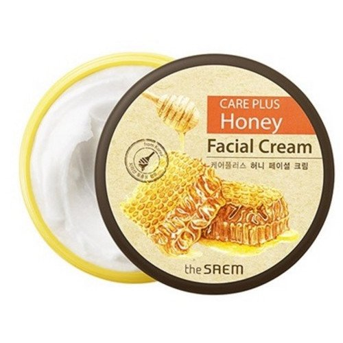 Питательный крем The Saem Care Plus Honey Facial Cream