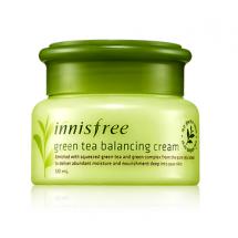 Увлажняющий крем для проблемной кожи Innisfree Green Tea Balancing Cream EX