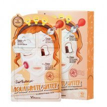 Трехступенчатая увлажняющая маска Elizavecca Aqua White Water Illuminate Mask Pack