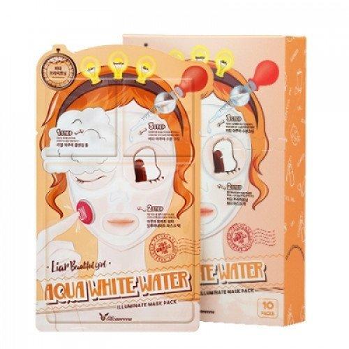 Триступенева зволожуюча маска Elizavecca Aqua White Water Illuminate Mask Pack