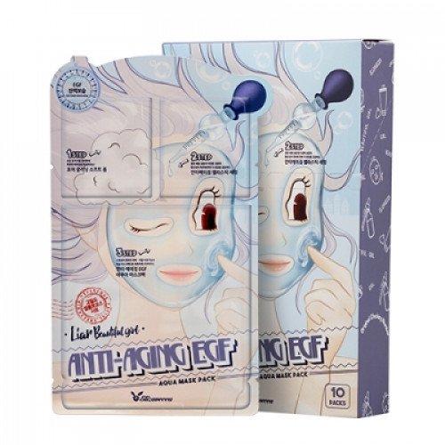 Трехступенчатая антивозрастная маска для лица Elizavecca Anti-Aging EGF Aqua Mask Pack