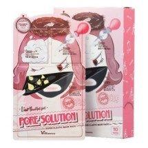 Трехступенчатая маска для проблемной кожи Elizavecca Pore Solution Super Elastic Mask Pack
