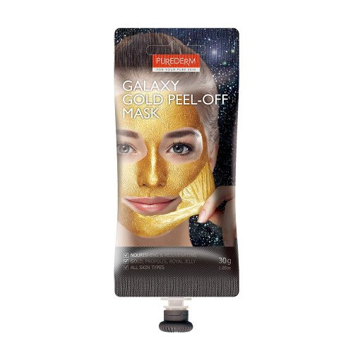 Очищающая маска-плёнка Purederm Galaxy Gold Peel-off Mask