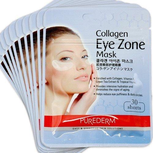 Маски для шкіри навколо очей Purederm Collagen Eye Zone Mask