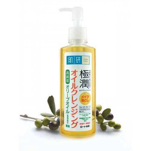 Гидрофильное масло HadaLabo Gokujyun Cleansing Oil