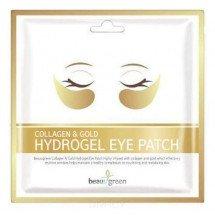 Гидрогелевые патчи для глаз c коллагеном и коллоидным золотом Beauugreen Collagen & Gold Hydrogel Eye Patch