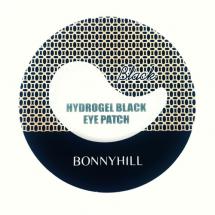 Гидрогелевые патчи под глаза с черным жемчугом BonnyHill Hydrogel Black Eye Patch