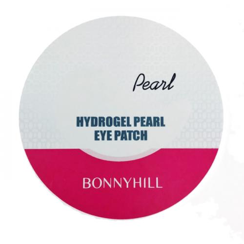 Патчи под глаза с жемчужным экстрактом BonnyHill Hydrogel Pearl Eye Patch