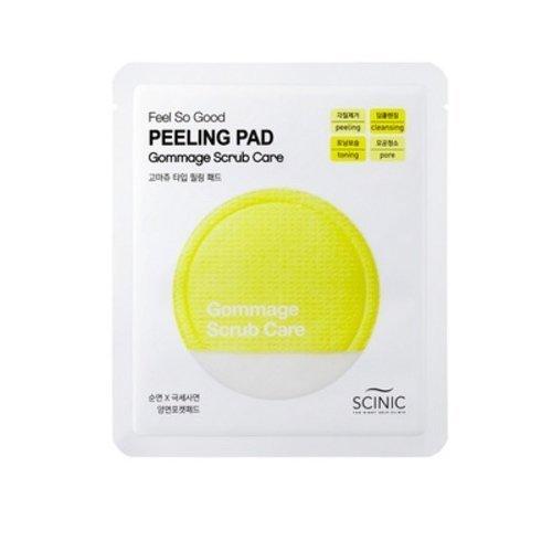 Кислотный пилинг с молочной и AHA-кислотами Scinic Feel So Good Peeling Pad Gommage Scrub Care