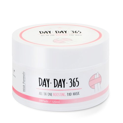 Кислотные пилинг-спонжи Wish Formula Day Day 365 All in one Boosting Pad Mask