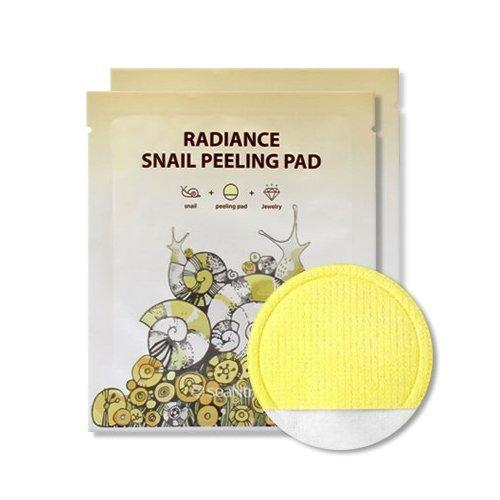 Пилинг-салфетка с муцином улитки SeaNtree Radiance Snail Peeling Pad